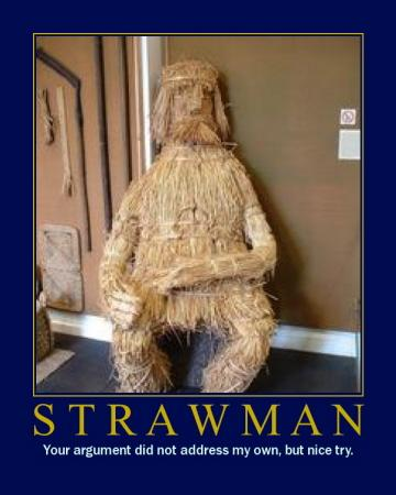 No Straw Men