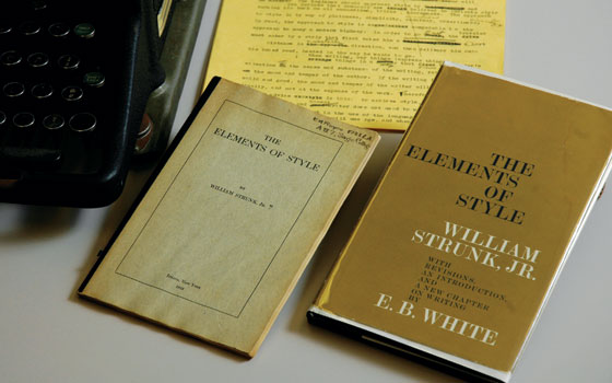 The Elements of Style, by William Strunk Jr. and E.B. White
