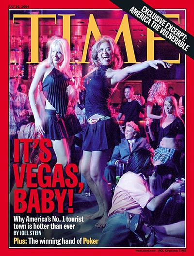 Time magazine cover, July 26, 2004