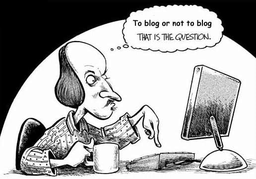 To Blog or Not to Blog: That Is the Question