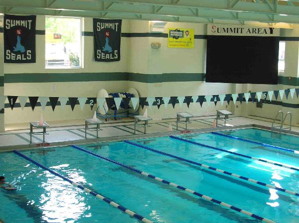 Summit Area YMCA Seals Swim Team Pool