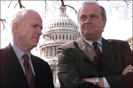 John McCain and Fred Thompson